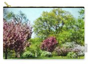 Row Of Flowering Trees Carry-all Pouch
