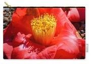Row Of Flowers Carry-all Pouch