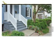 Row Of Historic Row Houses Carry-all Pouch