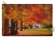 Row Of Maples Carry-all Pouch
