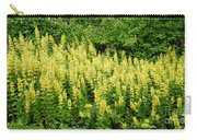 Row Of Yellow Flowers Carry-all Pouch