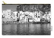 Rowboat Along An Idyllic Sicilian Village. Carry-all Pouch