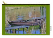 Rowboat And Blue Reflections Carry-all Pouch