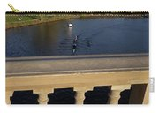 Rowinfg Towards The Weeks Bridge Charles River Harvard Square Cambridge Ma Carry-all Pouch