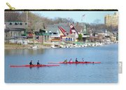 Rowing Along The Schuylkill River Carry-all Pouch