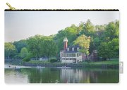 Rowing Along The Schuylkill River In Philadelphia Carry-all Pouch