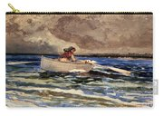 Rowing At Prouts Neck Carry-all Pouch