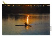 Rowing At Sunset 2 Carry-all Pouch