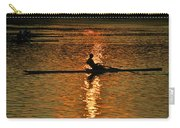 Rowing At Sunset 3 Carry-all Pouch