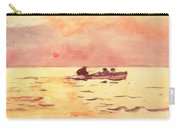 Rowing Home Carry-all Pouch by Winslow Homer