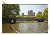 Rowing In Central Park Carry-all Pouch