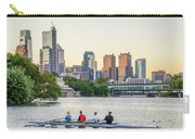 Rowing The Schuylkill - Philadelphia Cityscape Carry-all Pouch
