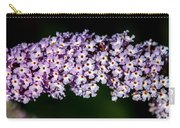 Rows And Flows Of Angel Flowers Carry-all Pouch