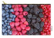 Rows Of  Berries  Carry-all Pouch