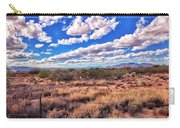 Rows Of Clouds Over Sonoran Desert Carry-all Pouch