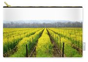 Rows Of Wild Mustard Carry-all Pouch