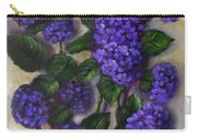 Royal Blue Hydrangea Carry-all Pouch