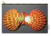 Royal Cloak Scallop Seashell  Carry-all Pouch