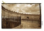Royal Crescent Bath Somerset England Uk Carry-all Pouch