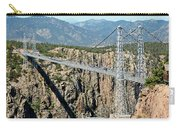 Royal Gorge Bridge In Summer Carry-all Pouch