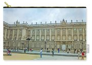 Royal Palace In Madrid In A Beautiful Summer Day, Spain Carry-all Pouch