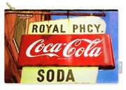 Royal Phcy Coke Sign Carry-all Pouch