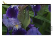Royal Purple Iris's Carry-all Pouch
