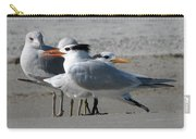 Royal Terns And Gulls Carry-all Pouch