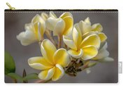 Royal Yellow Plumerias Carry-all Pouch
