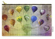 Roygbiv Balloons Carry-all Pouch