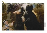 Rubens His Wife Helena Fourment 16141673 And Their Son Frans 16331678 Carry-all Pouch