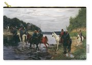 Rubicon. Crossing The River By Denis Davydov Squadron. 1812. Carry-all Pouch