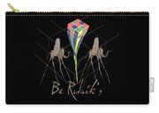 Rubik's Cube And Salvador Dali Elephants Carry-all Pouch