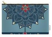 Rubino Zen Flower Carry-all Pouch