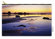 Ruby Beach Yellow Blue Carry-all Pouch