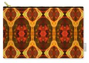 Ruby Glow Pattern Carry-all Pouch by Amy Vangsgard