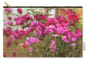 Ruby Like Flora Carry-all Pouch