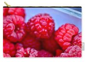 Ruby Raspberries Carry-all Pouch
