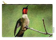 Ruby Red - Digital Art Carry-all Pouch