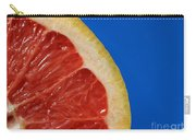 Ruby Red Grapefruit Quarter Carry-all Pouch