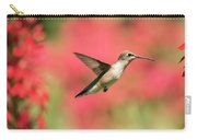Ruby Throated Hummingbird 2016-6 Carry-all Pouch