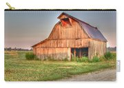 Ruddish Barn At Dawn Carry-all Pouch