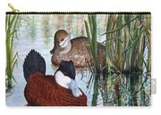 Ruddy Ducks Carry-all Pouch