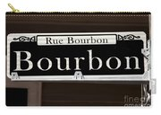 Rue Bourbon Street - New Orleans Carry-all Pouch