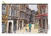 Rue Malpalu, Rouen, France I Carry-all Pouch