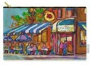 Rue Prince Arthur Casa Grecque Montreal Carry-all Pouch