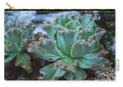 Echeveria Rosea  Carry-all Pouch