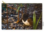 Rufous Sided Towhee At A Glance Carry-all Pouch