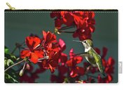 Rufus Humming Bird At Sunrise  Carry-all Pouch