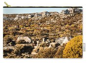 Rugged Mountain Town Carry-all Pouch